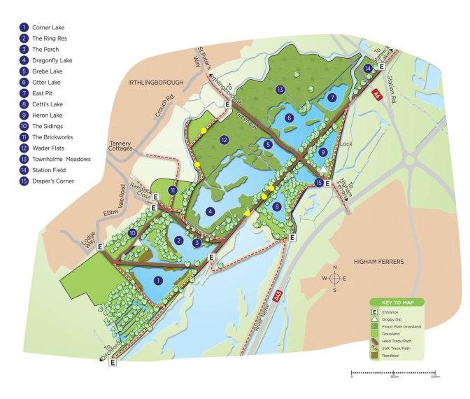 Site map (Ian Wilson)